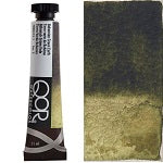 Golden QoR Watercolor 11 ml - Bohemian Green Earth  (Prop 65 WARNING!)