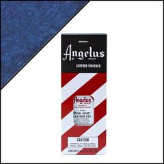 Angelus Leather Dye 3 fl oz (88.7 ml) - Blue Jean
