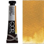 Golden QoR Watercolor 11 ml - Yellow Ochre (Natural)  (Prop 65 WARNING!)