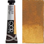 Golden QoR Watercolor 11 ml - Raw Sienna (Natural)  (Prop 65 WARNING!)