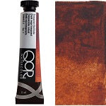 Golden QoR Watercolor 11 ml - Transparent Red Oxide