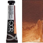 Golden QoR Watercolor 11 ml - Burnt Sienna (Natural)  (Prop 65 WARNING!)