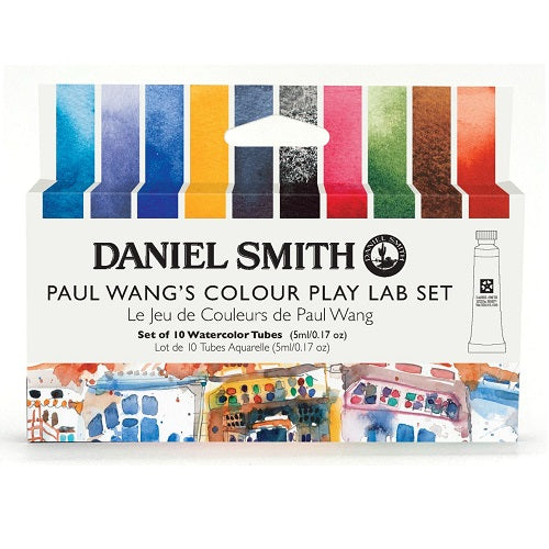 Daniel Smith Watercolor 10 Color Paul Wang's Colour Play Lab Set (10 X 5ml tubes)
