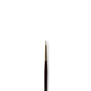 Connoisseur 2107 Pure Synthetic Bristle - Round  #0