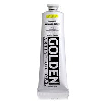 Golden Heavy Body Acrylic Bismuth Vanadate Yellow 5 oz