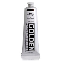 Golden Heavy Body Acrylic Burnt Umber Light  5 oz  (Prop 65 WARNING!)