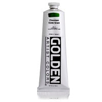 Golden Heavy Body Acrylic Chromium Oxide Green 5 oz