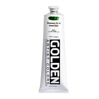 Golden Heavy Body Acrylic Chromium Oxide Green Dark 5 oz