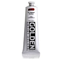 Golden Heavy Body Acrylic C.P. Cadmium Red Dark 5 oz  (Prop 65 WARNING!)