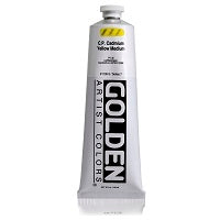 Golden Heavy Body Acrylic C.P. Cadmium Yellow Medium 5 oz  (Prop 65 WARNING!)