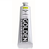 Golden Heavy Body Acrylic Hansa Yellow Light 5 oz