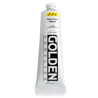Golden Heavy Body Acrylic Hansa Yellow Medium 5 oz