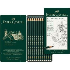 9000 CASTELL ART SET/12