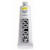 Golden Heavy Body Acrylic Hansa Yellow Opaque 5 oz