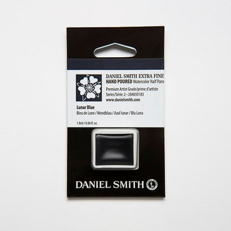 Daniel Smith Extra Fine Watercolor Half Pan - Lunar Blue