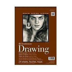 Strathmore 400 Series Drawing Pad - Medium Surface 80 lb 11X14