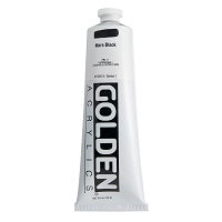 Golden Heavy Body Acrylic Mars Black 5 oz