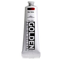 Golden Heavy Body Acrylic Mars Yellow 5 oz