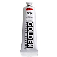 Golden Heavy Body Acrylic Naphthol Red Light 5 oz