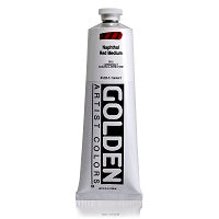 Golden Heavy Body Acrylic Naphthol Red Medium 5 oz