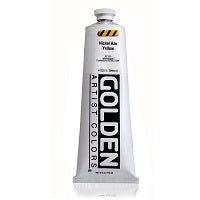 Golden Heavy Body Acrylic Nickel Azo Yellow 5 oz  (Prop 65 WARNING!)