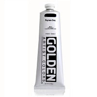 Golden Heavy Body Acrylic Paynes Gray 5 oz  (Prop 65 WARNING!)