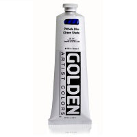 Golden Heavy Body Acrylic Phthalo Blue (green shade) 5 oz