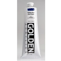 Golden Heavy Body Acrylic Phthalo Blue (red shade) 5 oz