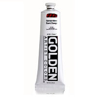 Golden Heavy Body Acrylic Quinacridone Burnt Orange 5 oz