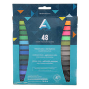 Art Alternatives Artist Soft Pastel Set of 48 Assorted Colors (back)