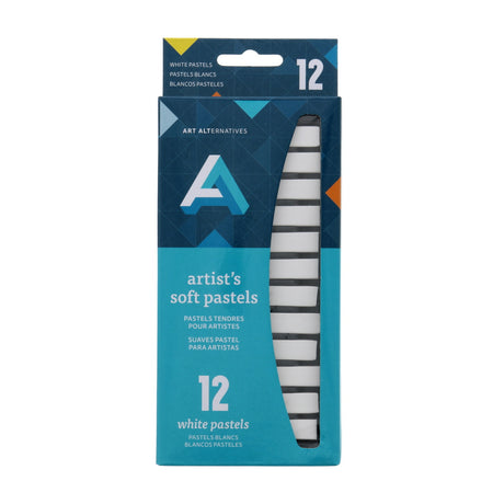 Art Alternatives Artist Soft Pastel Pack of 12 White