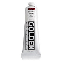 Golden Heavy Body Acrylic Quinacridone Crimson 5 oz