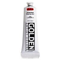Golden Heavy Body Acrylic Quinacridone Nickel Azo Gold 5 oz  (Prop 65 WARNING!)