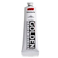 Golden Heavy Body Acrylic Quinacridone Red 5 oz