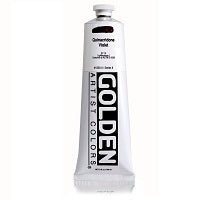Golden Heavy Body Acrylic Quinacridone Violet 5 oz