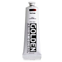 Golden Heavy Body Acrylic Red Oxide 5 oz
