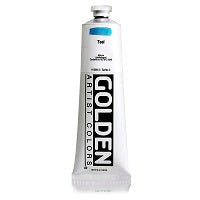 Golden Heavy Body Acrylic Teal 5 oz