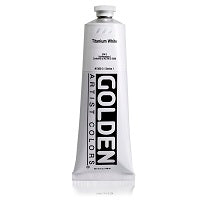 Golden Heavy Body Acrylic Titanium White 5 oz