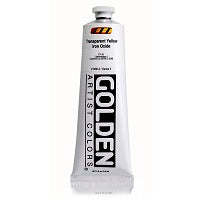 Golden Heavy Body Acrylic Transparent Yellow Iron Oxide 5 oz