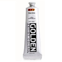 Golden Heavy Body Acrylic Yellow Ochre 5 oz
