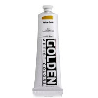 Golden Heavy Body Acrylic Yellow Oxide 5 oz