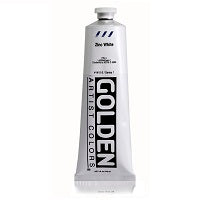Golden Heavy Body Acrylic Zinc White 5 oz