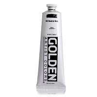 Golden Heavy Body Acrylic Neutral Grey N5 5 oz  (Prop 65 WARNING!)