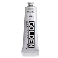 Golden Heavy Body Acrylic Neutral Gray N8 5 oz