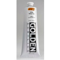 Golden Heavy Body Acrylic Indian Yellow Hue 5 oz
