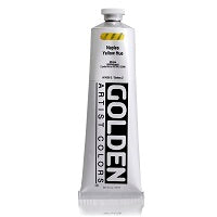 Golden Heavy Body Acrylic Naples Yellow Hue 5 oz