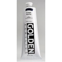 Golden Heavy Body Acrylic Prussian blue Hue 5 oz