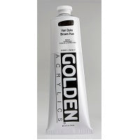 Golden Heavy Body Acrylic Van Dyke Brown Hue 5 oz  (Prop 65 WARNING!)