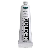 Golden Heavy Body Acrylic Viridian Hue 5 oz  (Prop 65 WARNING!)