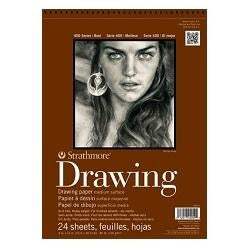 Strathmore 400 Series Drawing Pad - Medium Surface 80 lb 14X17
